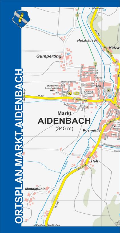 Ortsplan Aidenbach