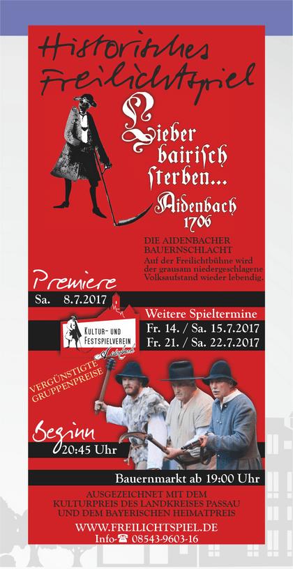 Historisches Freilichtspiel Aidenbach 1706