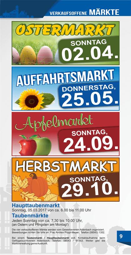Märkte in Aidenbach