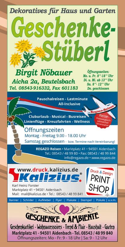 Regazo Reisen Aidenbach