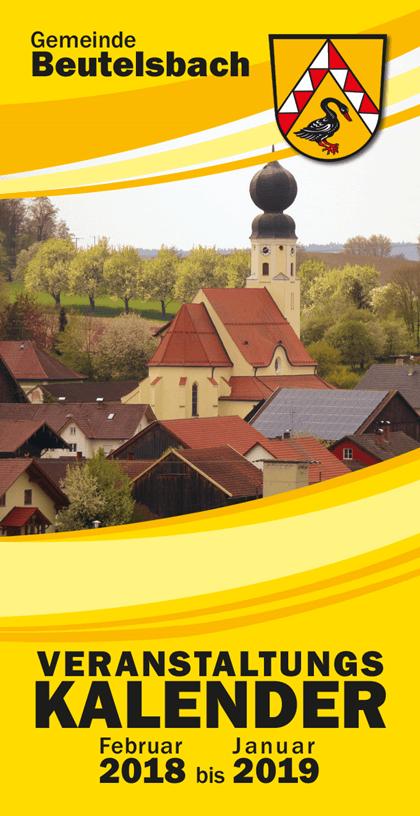 Veranstaltungskalender 2018 für Beutelsbach