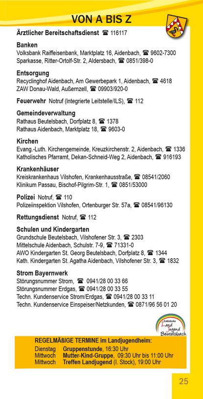 Beutelsbach von A-Z