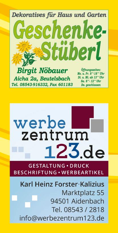 werbezentrum123 Aidenbach
