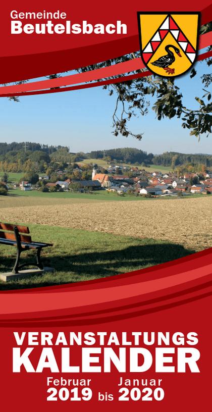 Veranstaltungskalender 2019 für Beutelsbach