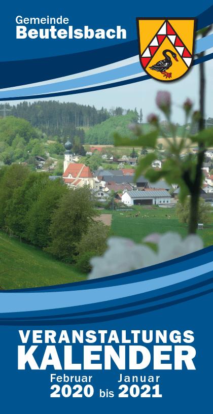 Veranstaltungskalender 2020 für Beutelsbach